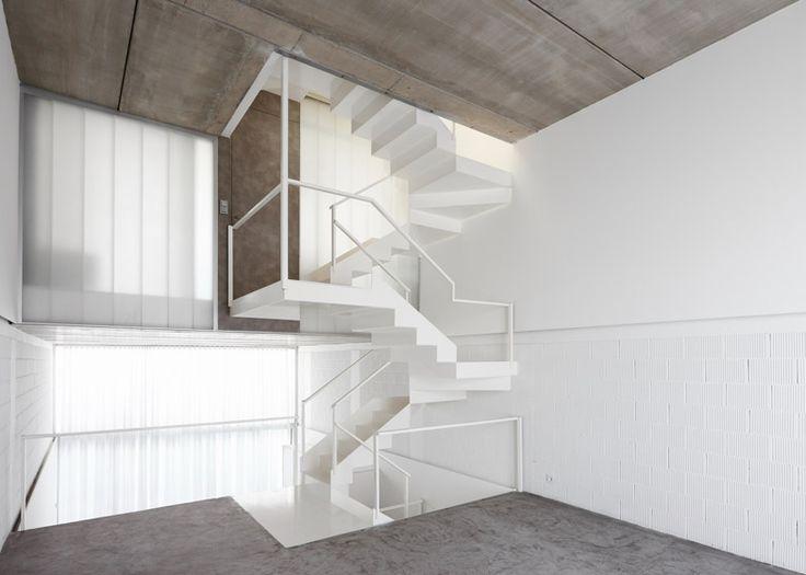 Rue Space's Casa #20 has a translucent glass facade