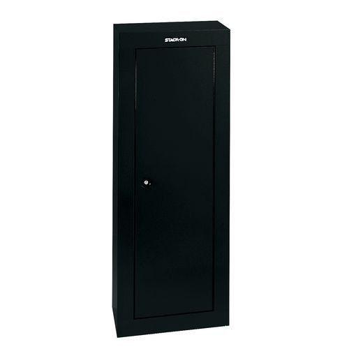 #gunlocker 8 Gun Storage Cabinet Security Locker Steel Safe Rack Dry Ammo Floor Wall Mount