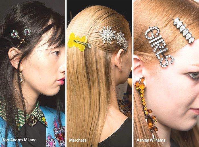 Haaraccessoire trends lente/zomer 2017 #hairstyle #hairaccessories #hair