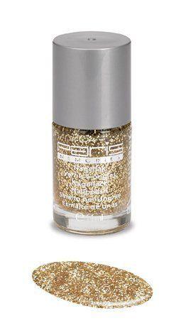 blank met gouden glitter nagellak paris memories 250