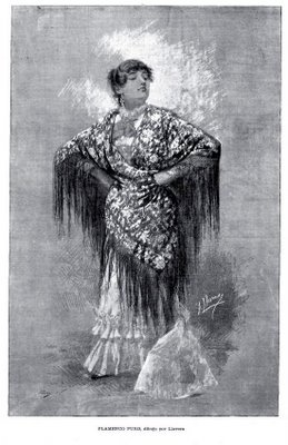 Flamenco de papel...: José Llovera: Flamenco puro, Flamenco mezclado