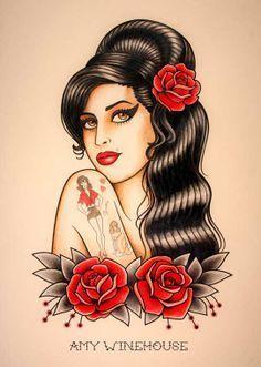 amy winehouse tattoo - Recherche Google