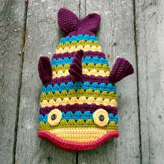 Free Crochet Fish Potholder Pattern : 1,000 ???? ?Crochet Fish??????????????Pinterest ???????? ...