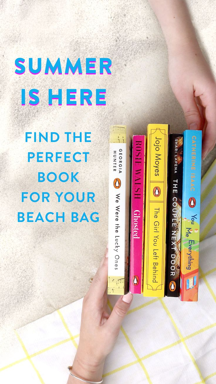 20 Perfect Books for Every Beach Bag