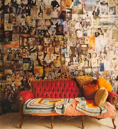 Unending inspiration.Wall Collage, Ideas, Inspiration Wall, Living Room, Photos Collage, Collage Wall, Photos Wall, World Of Interiors, Pictures Wall