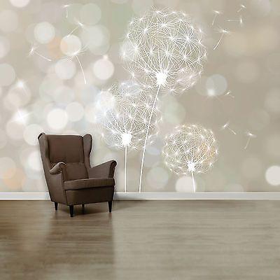FOTOTAPETE  Blown Dandelion  366cm x 254cm Pusteblume Wand Dekoration Tapete