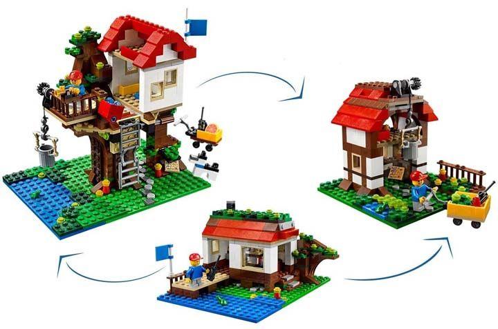 Lego rumah pohon