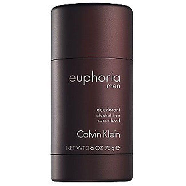 Calvin Klein Euphoria Men 2.6-ounce Deodorant (Euphoria Men 2.6 oz Deodorant (3 Pack)), Red ginger
