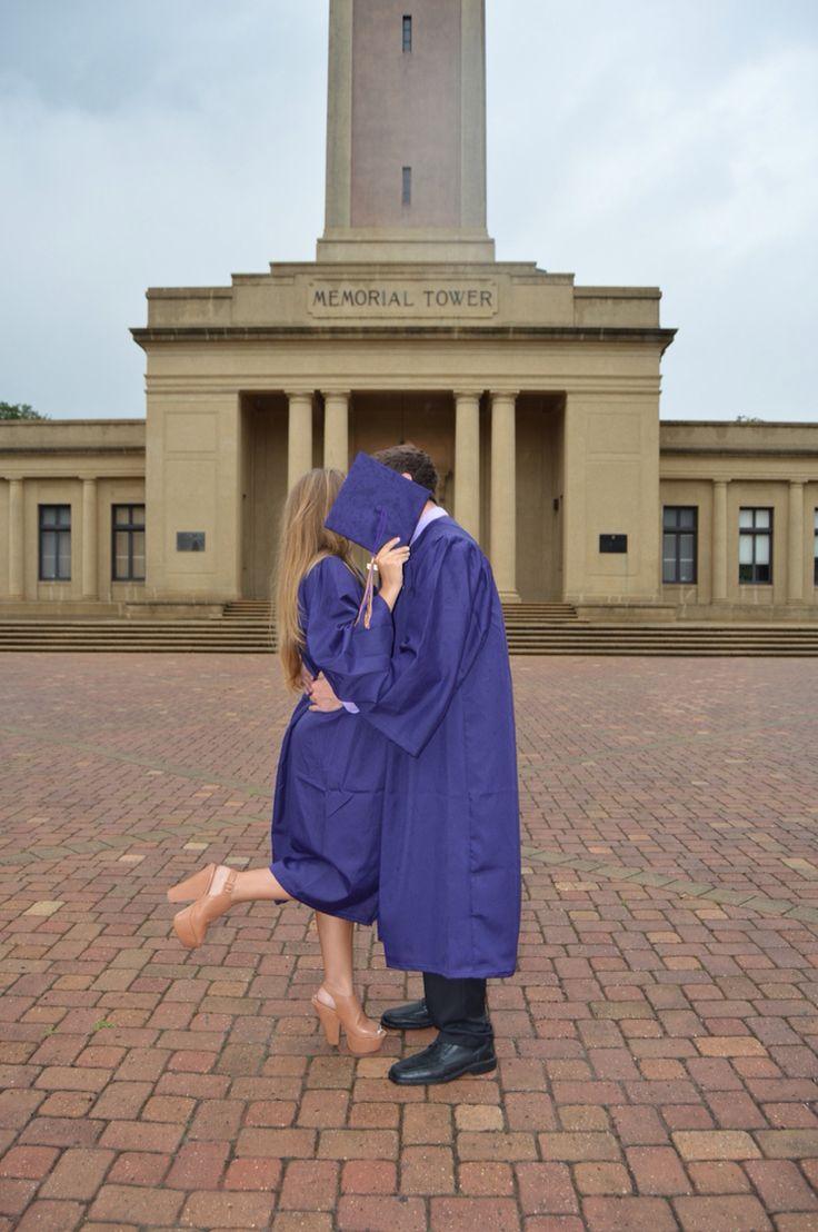 lsu graduation couple pictures