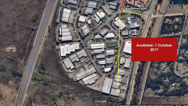 Prime Property To let - Corporate park South - Midrand