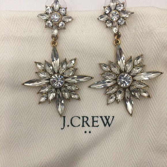 J Crew earrings Beautiful j crew earrings! New without tags. J. Crew Jewelry Earrings