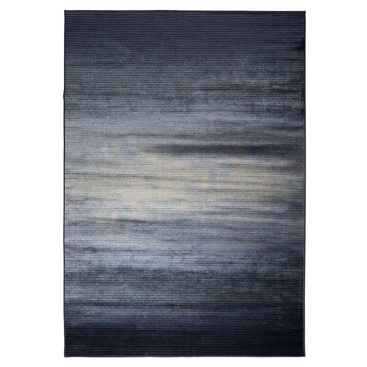 Hemel vloerkleed Obi Zuiver donkerblauw & grijs | Home Stock