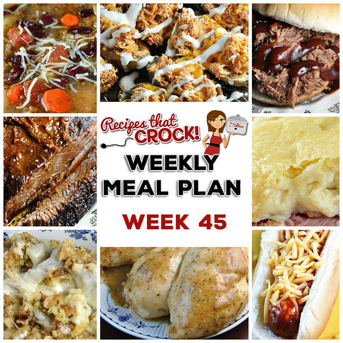 This week's weekly menu features Crock Pot Maple Beef Brisket, Crock Pot Mozzarella Stuffing, Crock Pot Shredded Beef Sandwiches (Virginia Style), Crock Pot Minestrone Soup, Slow Cooker Cajun Chicken, Crock Pot Dinner Rolls, Sweet Crock Pot Honey BBQ Hot Dogs, Crock Pot Cream Cheese Danish, Crock Pot Red Velvet Spoon Brownies and Crock Pot Buffalo Chicken Potato Skins! Note: We use referral links to...Read More »