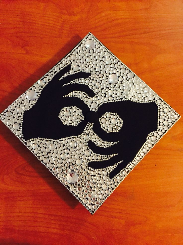 Sign language graduation cap | Grad Caps | Graduation cap ...