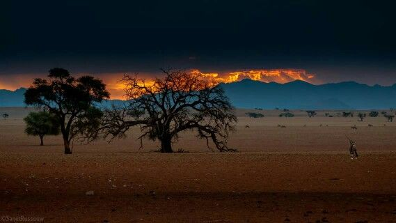 There's never one sunrise the same or one sunset the same - Carlos Santana Namib