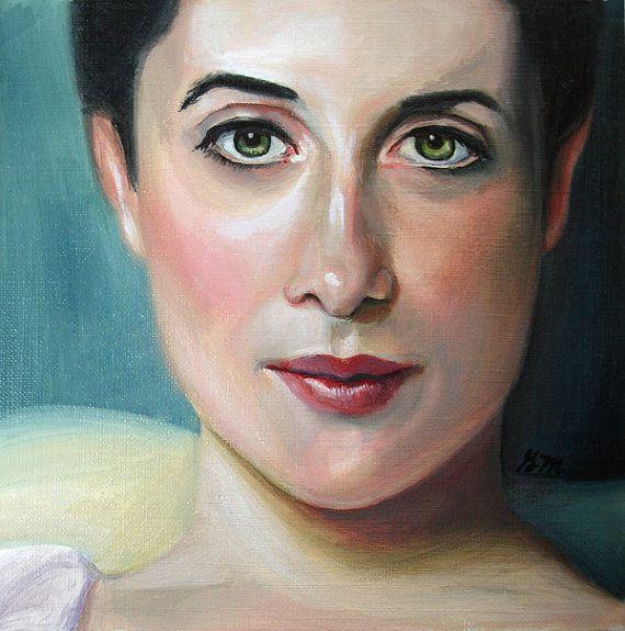 Lady Agnew study  Original Oil Painting by GretchenMattaStudio,  SOLD