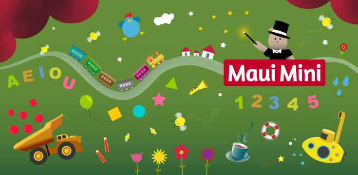 Maui Mini Jeux Éducatifs pour Tout-petits et Jeunes Enfants - App