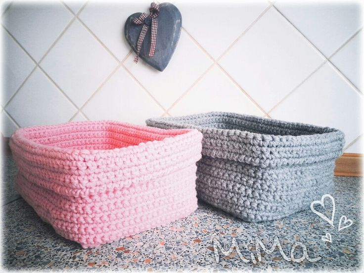 Košíčky.. crochet baskets
