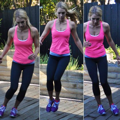 Cardio Circuit from Shape Magazine: HIIT circuits - complete the circuit 6x