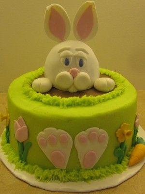 Easter Bunny Cake. Tort Wielkanoc. Pastel de Pascua. Osterkuchen. Gâteau de Pâques.