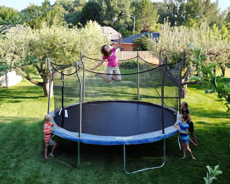 Propel Trampolines 14' Enclosed Trampoline