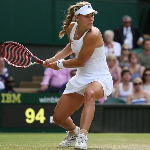 7/2/15 Angelique Kerber def. Anastasia Pavlychenkouva 7-5 6-2 in the 2nd rd of Wimbledon.
