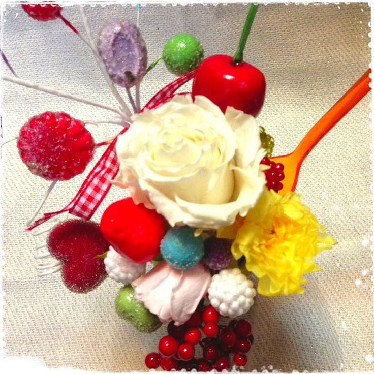 candy pop parfait arrangement