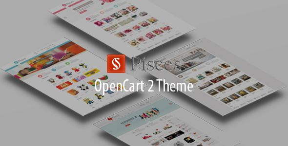 Pisces Opencart Theme is designed for selling sports products, toys, flowers and furniture and accessories. If you want to enlarge the number of your custo
