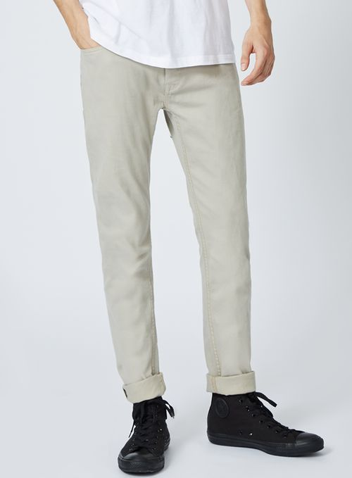 Washed Out Stretch Skinny Jeans - TOPMAN