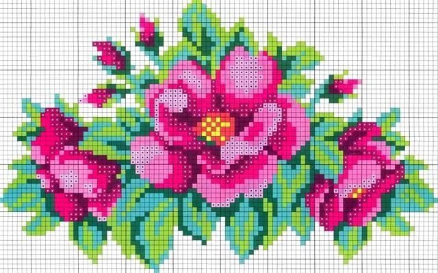 цветок анютины глазки из бисера - Поиск в Google