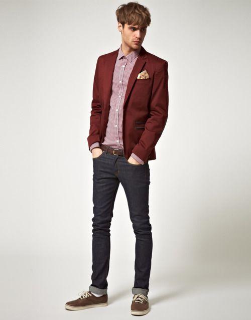 Best 25  Mens burgundy blazer ideas only on Pinterest | Autumn ...