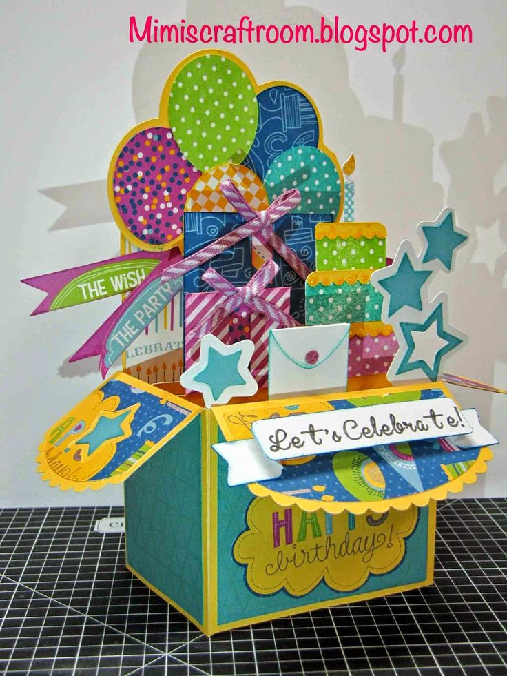 461 best birthday cards pop ups movement images on pinterest i added mimis craft room confetti wishes color dare to an cricut pop up bookmarktalkfo Images