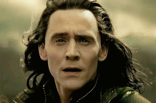 in case you need to cheer up your day:Loki's hair blowing majestically in the wind ♥