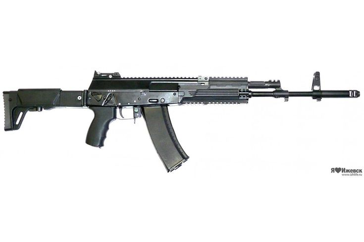 The AK-12 is fitted an ambidextrous selector switch that is 4-position switchable from safe to single, 3-round burst, and full auto fire.