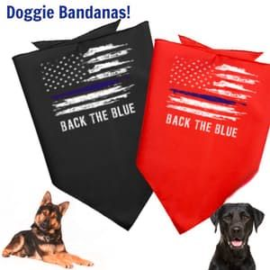 Back the Blue | Law Enforcement Love | Blue Lives Happy Store