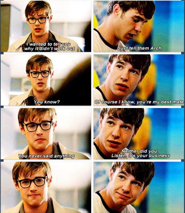 Finn is the best friend ever. This part was the cutest thing ever!