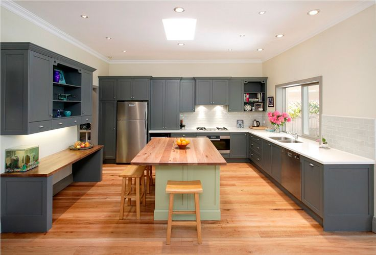 Stylish Grey Kitchen Inspiration For Exquisite Homes (9)