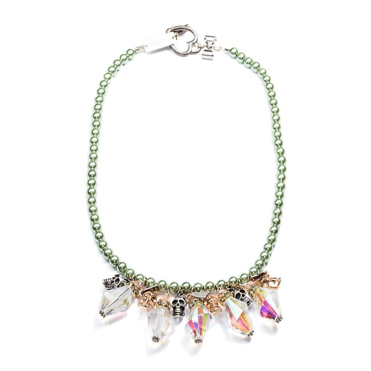 Shop this Handcrafted in Italy Necklace by Maiden Art at WWW.FINAEST.COM | #maidenart #finaest #jewellery #madeinitaly #accessories #womenswear #fashion #moda #necklace