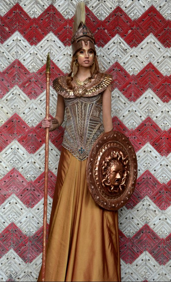 the gallery for gt athena goddess war costume