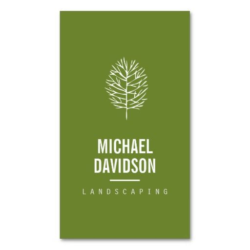 19 best Business Cards for Landscaping, Lawn Care, Landscapers ...