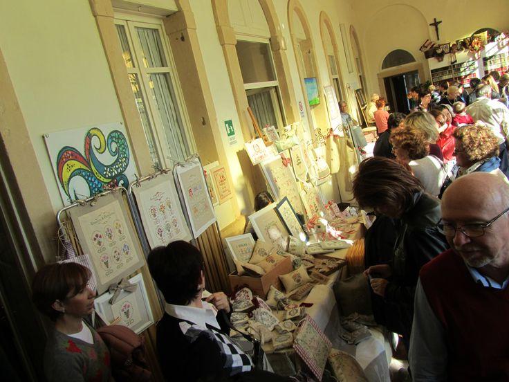 salone d'ingresso di Villa Buri