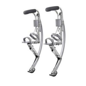 SLIVER JUMPING STILTS Adult sliver Jumping stilts Running stilts Kangaroo Shoes $399.00 $285.00