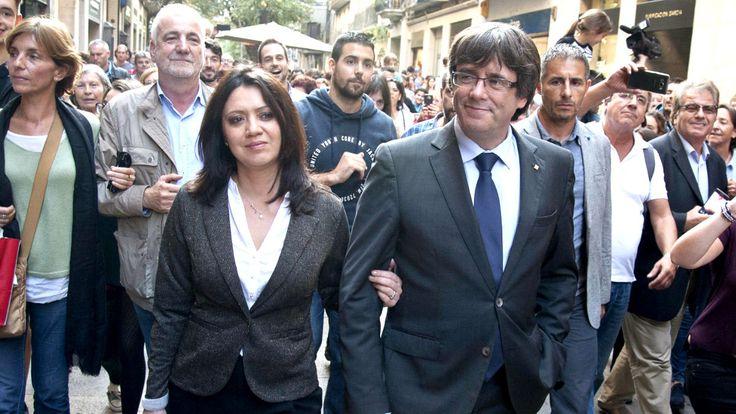 La mujer de Puigdemont a punto de perder su empleo por los despidos en el El Punt Avui