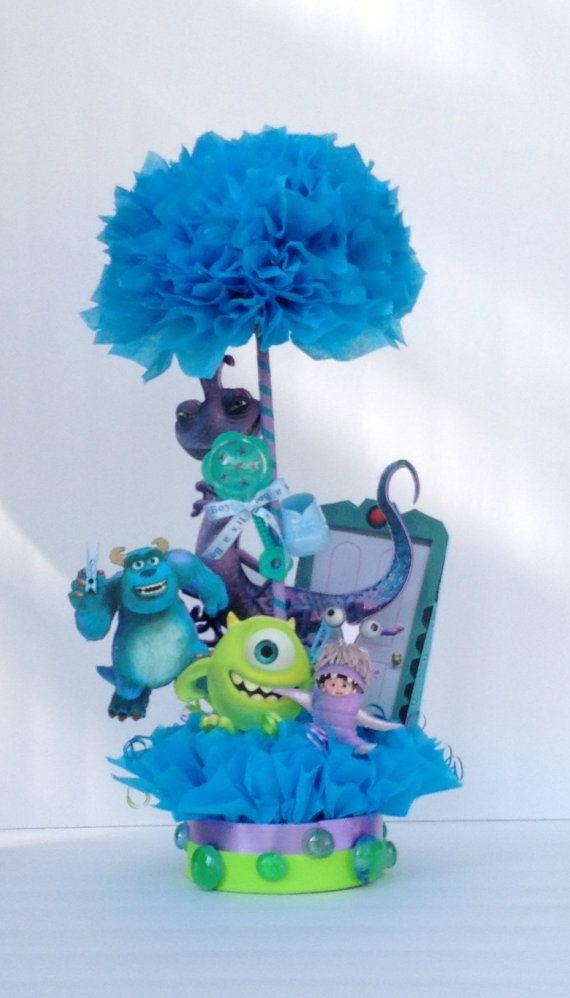 Monsters Inc Table Centerpiece Baby Shower Centerpiece