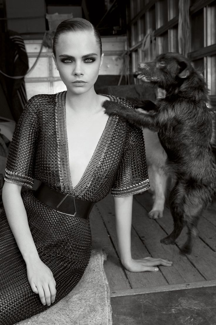 #NOVEMBERVOGUE – Cara Delevingne has graced nearly every catwalk going this season, but the November issue sees her back in the UK – at a car boot sale in Sussex to be precise, as she proves the perfect poster girl for autumn/winter 2012-13's eclectic collections.