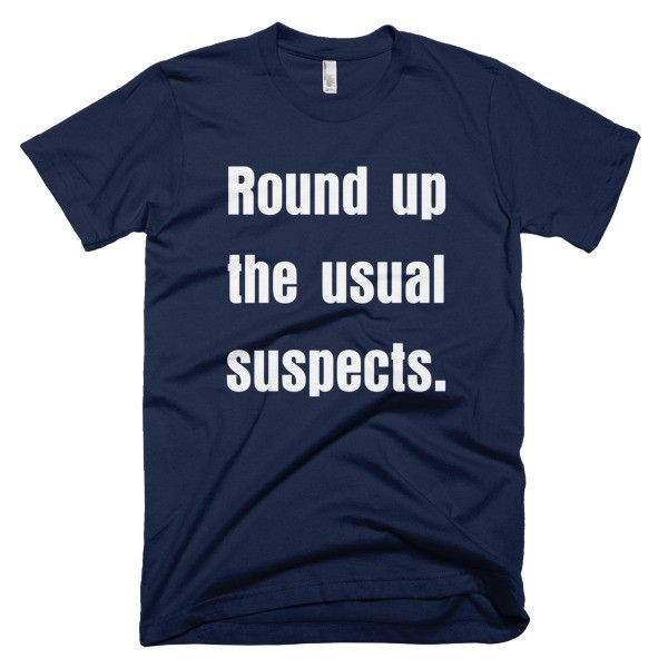 Casablanca - Usual Suspects T-Shirt