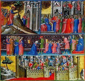 Haçlı Seferleri Kudüs'ü Müslüman kontrolünden kurtarmak için yapılan donanımlı seferlerdir. Kudüs 7.yüzyılda, Yakın Doğu, Kuzey Afrika ve Anadolu'yla birlikte Müslüman kontrolü altına girmişti. Birinci Haçlı Seferi, Bizans imparatoru I. Aleksios Komnenos' yardım etmesini istemesi nedeniyle, bunu sağlamak için 1095 yılında Papa II. Urbanus'un Clermont Konseyi'nde verdiği vaazla başladı. Urbanus