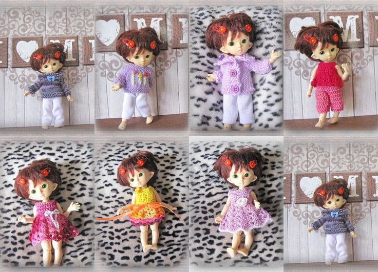 9 Pcs bjd pukifee clothes Fairyland Pukifee 1/8 doll #BJDPukifee