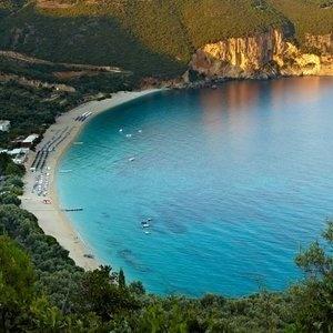 Parga, Lichnos beach