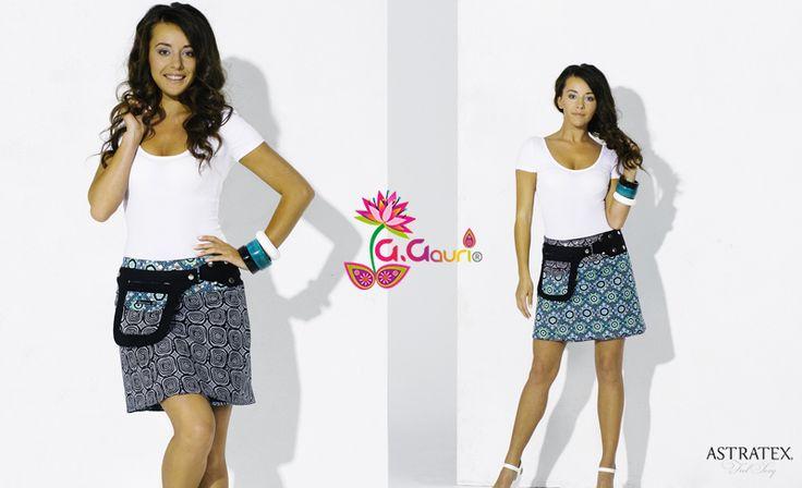 🌸 Originální oboustranné sukně od indického návrháře G. Gauri 🌸 Design sukně můžete měnit podle nálady - 4 varianty nošení! Co byste o nich měla vědět? Přírodní bavlna přímo z Indie ◦ Ruční šití (certifikováno Fair trade) ◦ Univerzální velikosti! (S až XXL) Připomínají Vám sukně svým vzhledem známou značku oblečení? Tak se vůbec nemýlíte, G. Gauri pro ně tvoří látky!